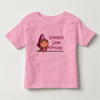 Grandpa's Little Princess Toddler T-shirt