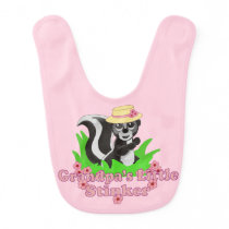 Grandpa's Little Stinker Girl Bib