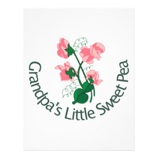 Grandpas Little Sweet Pea Letterhead