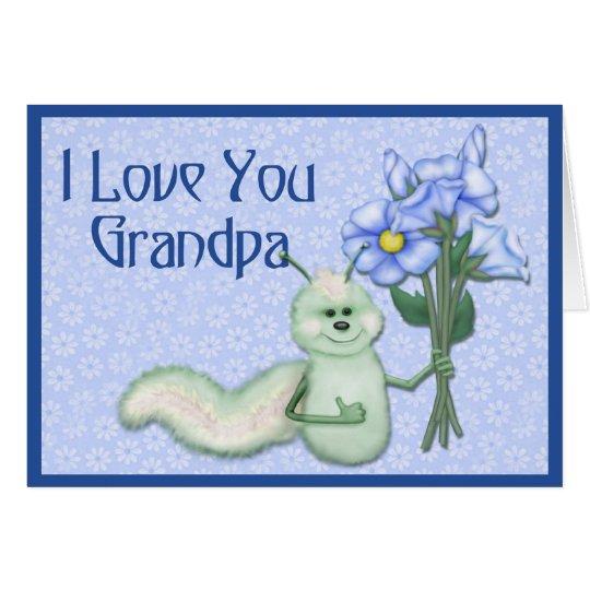 Grandpa's Love Bug Card