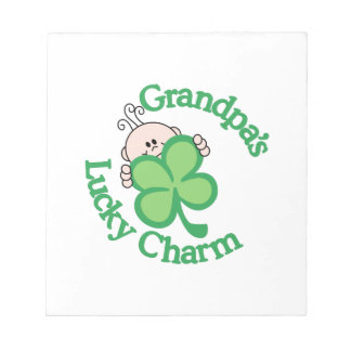 Grandpa's Lucky Charm Note Pad