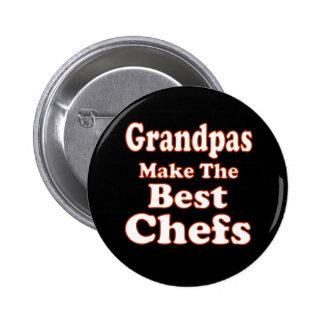 Grandpas Make Best Chefs Button