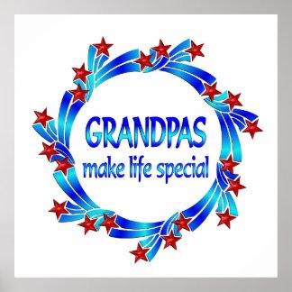 Grandpas Make Life Special Posters