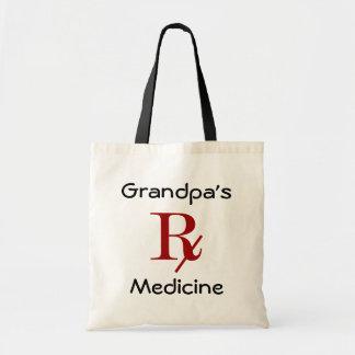 Grandpa's Medicine Tote Bag