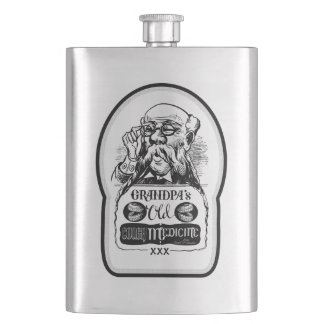 Grandpa's Old Cough Medicine - Dumb and Dumber Flask