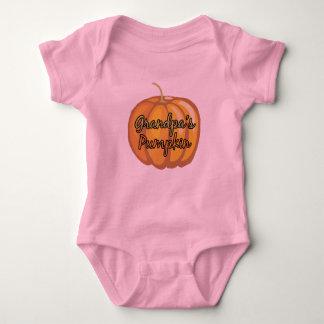 Grandpa's Pumpkin Baby Bodysuit
