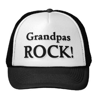 Grandpas ROCK Trucker Hat