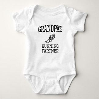 Grandpa's Running Partner Tee Shirt