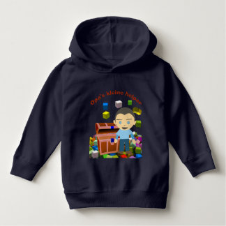 Grandpas small assistant boy hoodie
