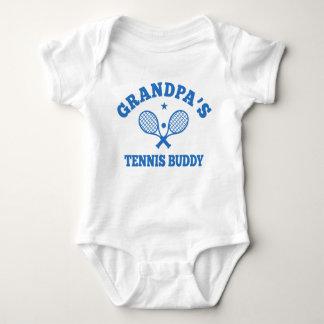 Grandpa's Tennis Buddy Baby Bodysuit