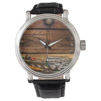 Grandpa's Toolbox Wrist Watch