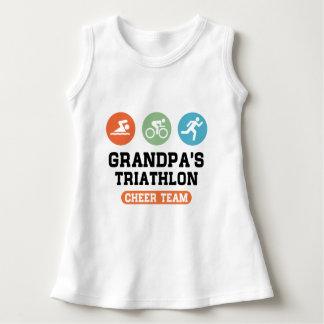 Grandpa's Triathlon Cheer Team Dress