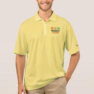 Grandpa's Triathlon Cheer Team Polo Shirt