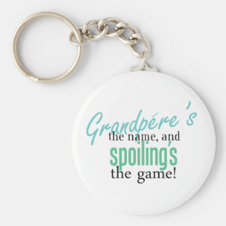 Grandpere's the Name, and Spoiling's the Keychain