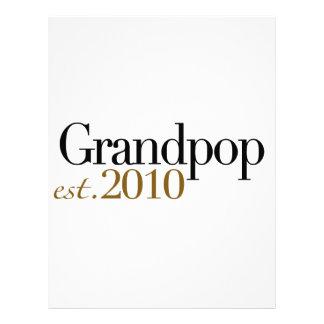 Grandpop Est 2010 Membrete A Diseño
