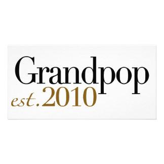 Grandpop Est 2010 Photo Cards