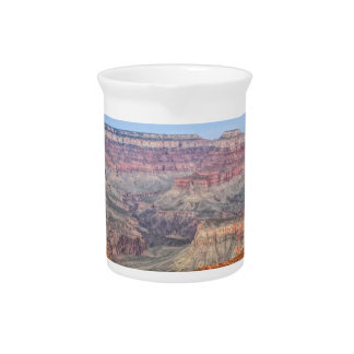 Grands Canyon Peaks in Arizona Beverage Pitcher