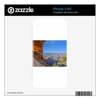Grands Canyon Peaks in Arizona Decals For iPhone 4