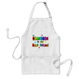 Grandson Best Friend Adult Apron