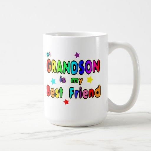 Grandson Best Friend Classic White Coffee Mug
