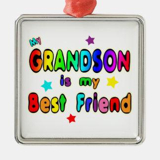 Grandson Best Friend Ornament