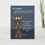 "Grandson Birthday Card - With Funky Mouse<br><div class=""desc"">Grandson Birthday Card - With Funky Mouse</div>"
