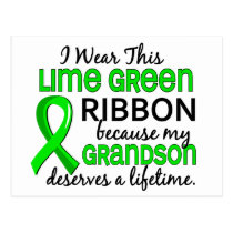 Grandson Deserves Lifetime Lymphoma Postcard