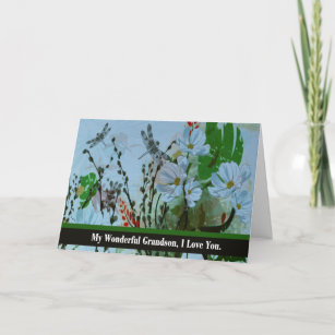 Terminally ill cards zazzle grandson good bye from terminally ill grandparent card m4hsunfo