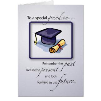 Grandson Graduation Congratulations Remember the P Card