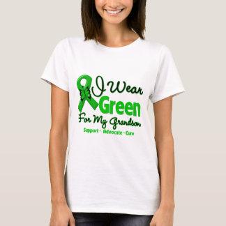 Grandson - Green  Awareness Ribbon T-Shirt