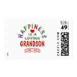 Grandson Happiness Stamps