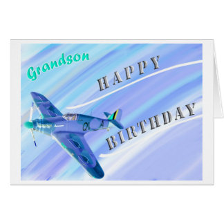 Grandson...Happy Birthday! Card