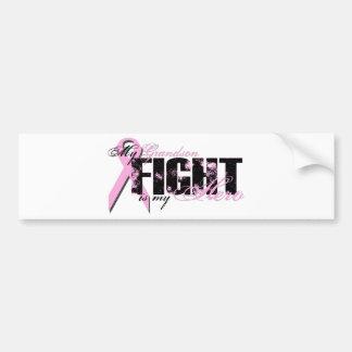 Grandson Hero - Fight Breast Cancer Bumper Sticker