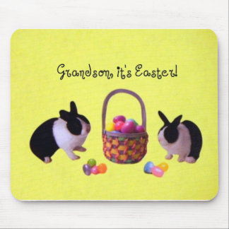 Grandson, it's Easter! Mouse Pad