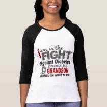 Grandson Means World To Me Diabetes T-Shirt