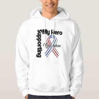 Grandson - Military Supporting My Hero Hoodie
