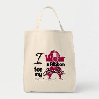 Grandson - Multiple Myeloma Ribbon Bags