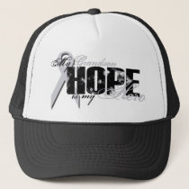 Grandson My Hero - Lung Hope Trucker Hat