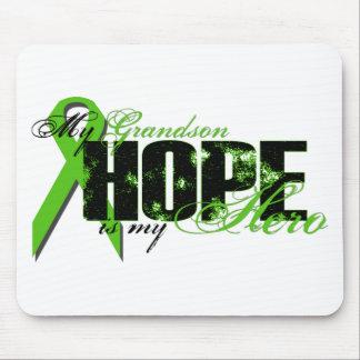 Grandson My Hero - Lymphoma Hope Mouse Pad