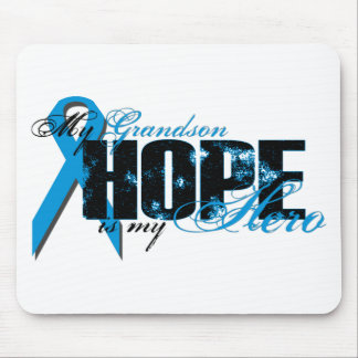 Grandson My Hero - Prostate Hope Mouse Pad