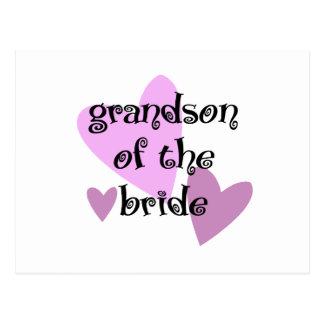 Grandson of the Bride Postcard