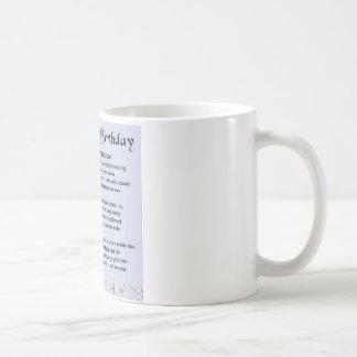 Grandson Poem - 18th Birthday Coffee Mug