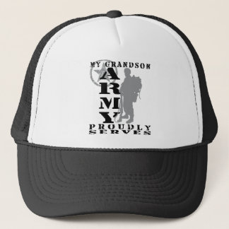 Grandson Proudly Serves - ARMY Trucker Hat