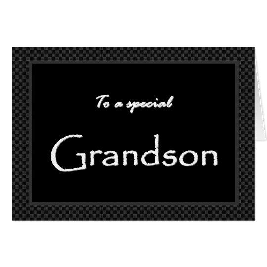 GRANDSON Ring Bearer  Invitation  Customizable