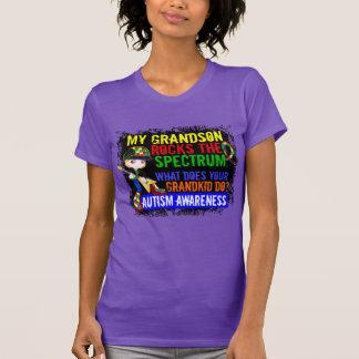 Grandson Rocks The Spectrum Autism T-Shirt