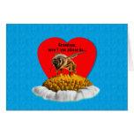 Grandson's Honey Bee Valentine Cards
