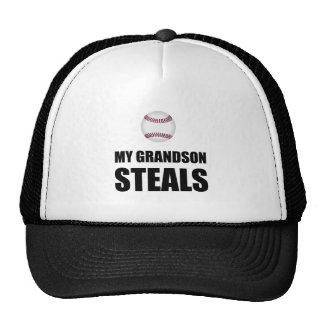 Grandson Steals Baseball Trucker Hat
