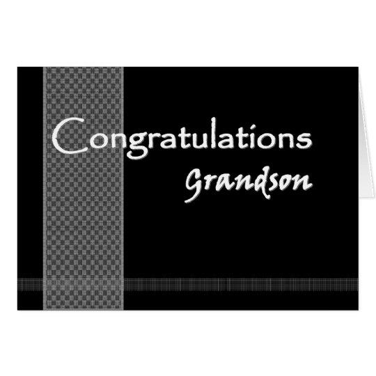 GRANDSON Wedding Congratulations Card