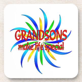 Grandsons Make Life Special Coaster
