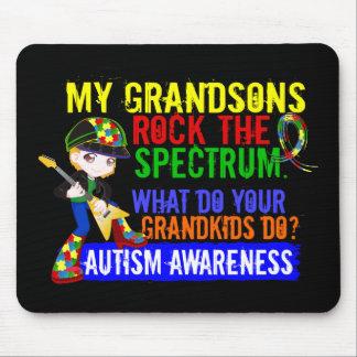 Grandsons Rock The Spectrum Autism Mouse Pad